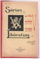 Livre  Sur Les Séries LIBERATION Lion V Léopold Surchargé V Et Petit Sceau Surchargé KICKEN  3 Planches Hors Texte - Filatelia E Historia De Correos