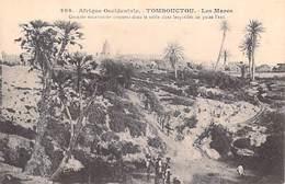 Afrique Occidentale  (Soudan)  MALI - TOMBOUCTOU  Les Mares Grandes Excavations Creusées Dans Le Sable *PRIX FIXE - Mali