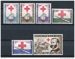Bélgica 1959. Yvert 1096-1101 ** MNH. - Ungebraucht