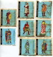 """8 Images """"Costumes Militaires"""" MALABAR 1965 / 1966  - Etat D'usage - Voir Scan - Oude Documenten"""