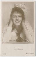 POSTAL FOTOGRAFIA DEL ACTOR HANNI WEISSE / K. 185. / PHOTOCHEMIE BERLIN - Photos