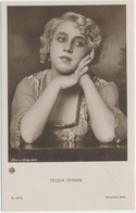 POSTAL FOTOGRAFIA DEL ACTOR HEDDA VERNON / K. 1379 / PHOTOCHEMIE BERLIN - Fotos
