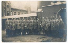 Deinze Soldats Allemands En Belgique Deutsche Soldaten In Belgien Militärpfarrer - Deinze