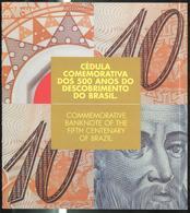 Billet 10 Réis / Dez Reais 2000 Polymère - Première Impression / First Print Run - Blister / Folder - Brésil