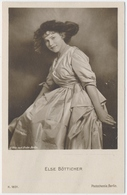 POSTAL FOTOGRAFIA DEL ACTOR ELSE BÖTTICHER / K. 1831 / PHOTOCHEMIE BERLIN - Foto's