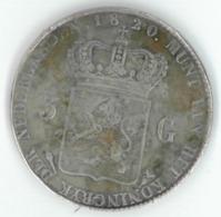 Fausse / False / Copie / Copy ... 3 Gulden 1820 - [ 3] 1815-… : Kingdom Of The Netherlands