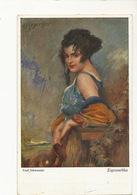 Zigeunerblut Tzigane Gypsie Rom Belle Femem Par Schmutzler  Primus Postkarte - Europe
