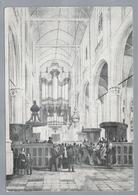 NL.- SCHIEDAM ? GROTE OF St. JANSKERK. Orgel Omstreeks 1850. - Kerken En Kathedralen