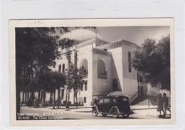 TEL AVIV. THE GREAT SYNAGOGUE. CIRCULEE 1950 PARIS TO USA - BLEUP - Israël