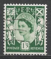 Scotland 1958. Scott #5 (U) Queen Elizabeth II * - Emissions Régionales