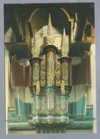 NL.- EDAM. GROTE OF St. NICOLAASKERK. Orgel In 1663 Gebouwd Door Barend Smit. Uitgebreid In 1716. Met Dispositie. - Kerken En Kathedralen
