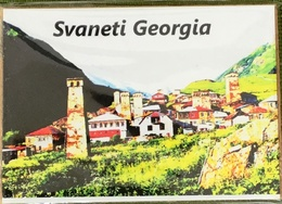 Georgia Gruzia Svaneti Refrigerator Magnet, From Georgia - Tourisme