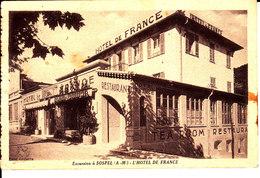 06 . Alpes Maritimes : Sospel : L ' Hotel De France . - Sospel