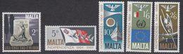 Malta 1969 Independence 5v ** Mnh (41591) - Malta