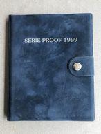 M/PS8 BELGIQUE Série Flan Bruni 1999 (FR+FL) 10 Monnaies En Frappe Médaille !! SUPER RARE !! - 1993-...: Albert II