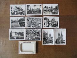 QUIMPER 10 PHOTOGRAPHIES VERITABLES 6X9 - Lieux