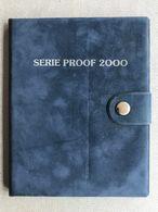 M/PS9 BELGIQUE Série Flan Bruni 2000 (FR+FL) 10 Monnaies En Frappe Médaille !! SUPER RARE !! - 1993-...: Albert II