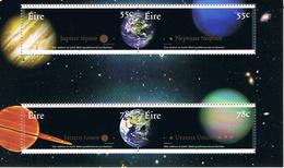 Irland Block 66 Planeten Jupiter, Saturn, Neptun, Uranos - Astronomie, Weltall - Neufs