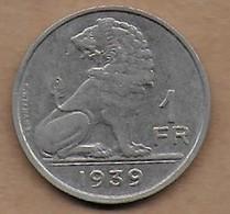 1 Franc 1939 FR-FL - 1934-1945: Leopold III