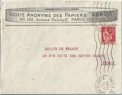 Enveloppe Publicitaire Société Anonyme Des Papiers ABADIE Paris - Publicités