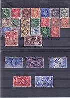 GB 1937-1946 GEORGES VI Yvert Oblitéré, Used Cote :15 Euro - 1902-1951 (Könige)