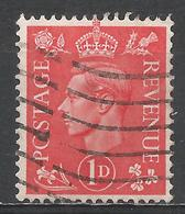 Great Britain 1941. Scott #259 (U) King George VI - 1902-1951 (Rois)