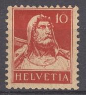 HELVETIA 1914: Mi 118 / YT 138, * MH - FREE SHIPPIG ABOVE 10 EURO - Svizzera