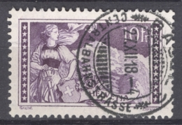 HELVETIA 1914: Mi 123 / YT 144, O - FREE SHIPPING ABOVE 10 EURO - Used Stamps
