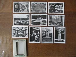 ARMISTICE 11 NOVEMBRE 1918 FORET DE COMPIEGNE 10 PHOTOS 6X9 - Lugares