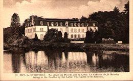 29 - QUIMPERLE - Environs - En Allant Au Pouldu Par La Laïta - Le Château De Saint-Maurice - Quimperlé