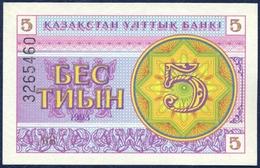 KAZAKHSTAN 5 TENGE P-3b 1993 UNC - Kazakhstan