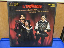 LP001 - COFANETTO 3 LP + LIBRETTO - IL TROVATORE - - Oper & Operette