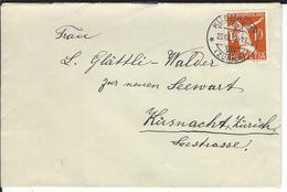 SBK J62, Mi 263 Küsnacht - Briefe U. Dokumente