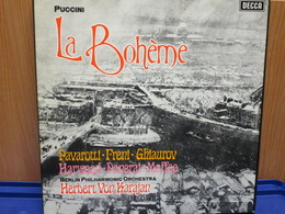 LP002 - COFANETTO 2 LP + LIBRETTO - LA BOHEME - - Opera