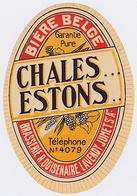 Br. Quisenaire-Lavendy (Jumet) - Chales Estons - Bière
