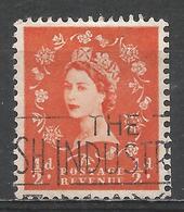 Great Britain 1956. Scott #317 (U) Queen Elizabeth II * - Oblitérés
