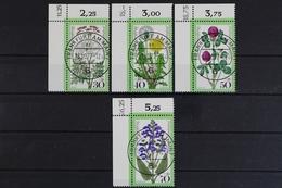 Deutschland (BRD), MiNr. 949-952, Ecken Links Oben, KBWZ, Gestempelt - [7] République Fédérale