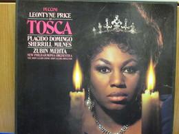 LP003 - COFANETTO 2 LP + LIBRETTO - TOSCA - - Oper & Operette