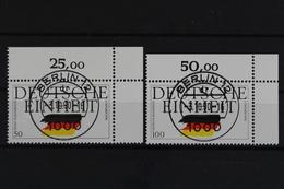 Deutschland (BRD), MiNr. 1477-1478, Ecke Re. Oben, Gestempelt - [7] République Fédérale