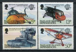 Falkland Dependencies 1983. Yvert 116-19 ** MNH. - Géorgie Du Sud