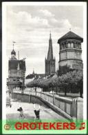 DÜSSELDORF Düsseldorfer Radschläger Am Rheinufer Versanden 1940 - Düsseldorf