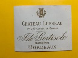 9457 - Château Lusseau Graves - Bordeaux