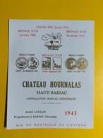 9469 - Château Hounalas 1943 Haut-Barsac Barsac - Bordeaux