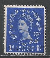 Great Britain 1956. Scott #318 (U) Queen Elizabeth II - 1952-.... (Elizabeth II)