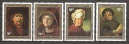 Mauretania 1980 Mi 686-689 MNH ART REMBRANDT - Rembrandt