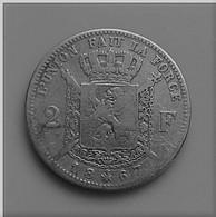 BELGIQUE LEOPOLD II  2 FRANCS 1867 ARGENT N°531D - 1865-1909: Leopold II