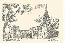 Montfayet L Eglise  De Y Decourtioux - France