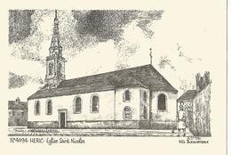 HERIC L Eglise  De Y Decourtioux - France