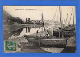 29 FINISTERE - TREBOUL Et La Rivière à Mare Basse - Tréboul