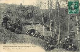 -ref-B536- Militaria - Manoeuvres D Infanteries - Regiments - Regiment - Occupation D Un Point D Appui - Militaires - - Manovre